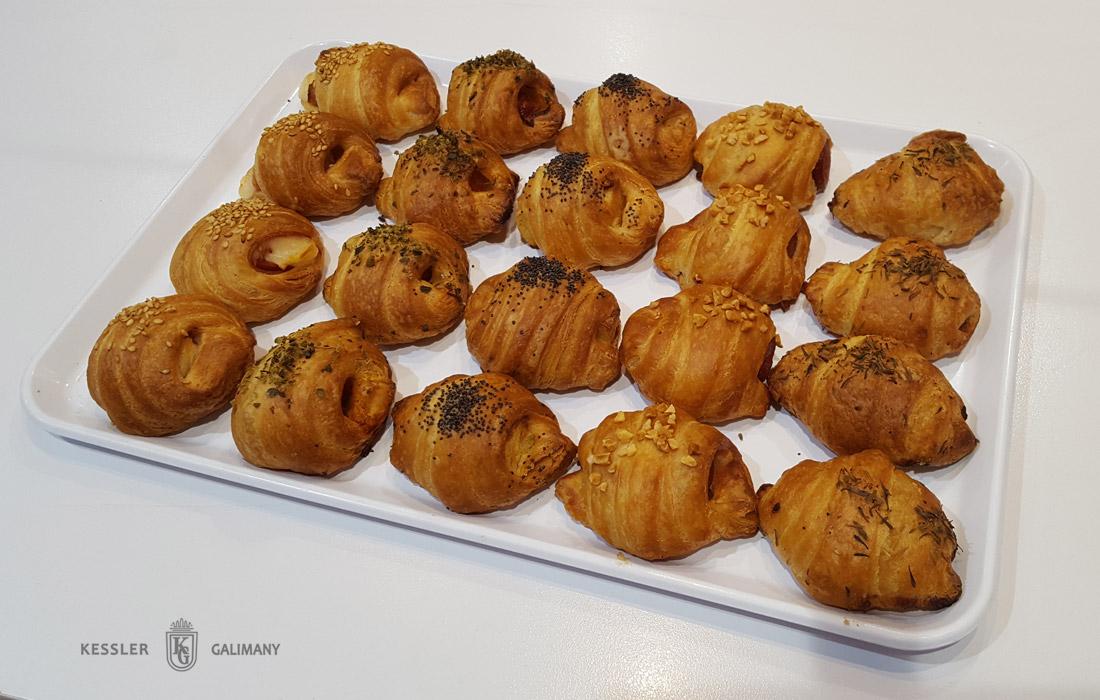Mini Croissants - Càtering Dolç - Pastisseria Kessler Galimany